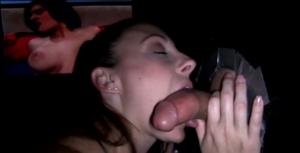La pornstar Melanie Hick suce une grosse queue - Glory Hole