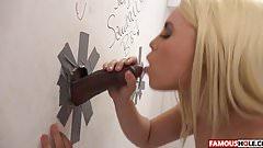 Une belle bite noire pour la charmante Brooke Summers